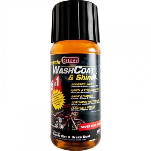 WashCoat & Shine for Motorcycles (946ml)